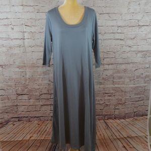 Soft Surroundings Blue Dress NEW NWOT C6